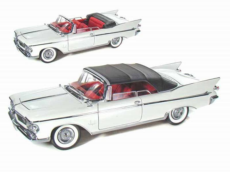Chrysler Imperial Crown 1961 White by lucky-die-cast