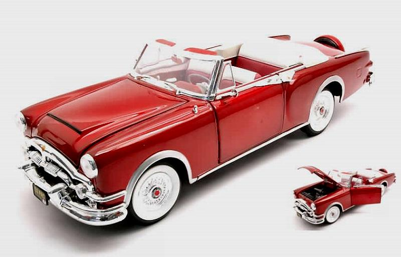 Packard Caribbean 1953 (Metallic Red) by lucky-die-cast