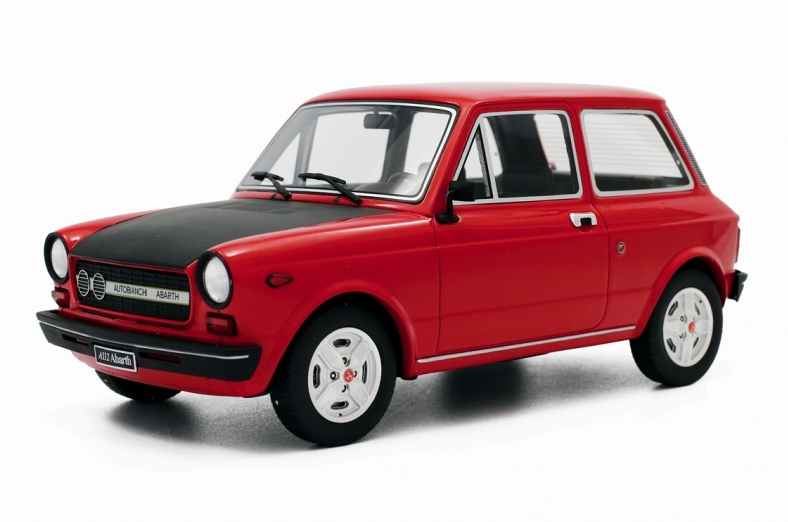 Autobianchi A112 Abarth 70 HP (Red) by laudo-racing