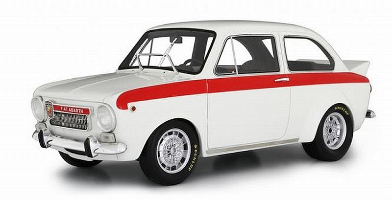 Fiat Abarth 1600 OT Test 1965 (White) by laudo-racing