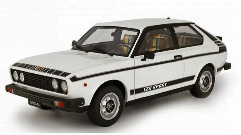 Fiat 128 3P 1100 Sport 1975 (White) by laudo-racing