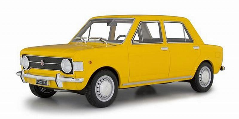 Fiat 128 1a Serie 1969 (Yellow ) by laudo-racing