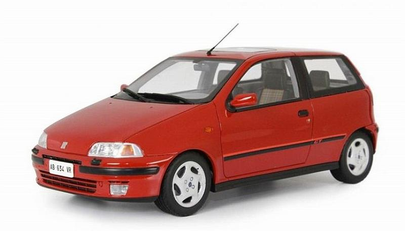Fiat Punto GT 1993 (Red) by laudo-racing