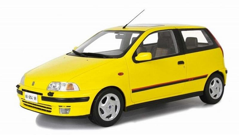 Fiat Punto GT 1993 (Yellow) by laudo-racing