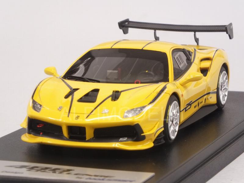 Kaifu accueille à à à la maison avec Fu Ferrari 488 Challenge   livery Giallo Modena 1:43 LOOKSMART LS476A | Des Performances Fiables  50b3cb