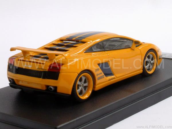 looksmart lamborghini gallardo le mans 2005 orange 1 43 scale model. Black Bedroom Furniture Sets. Home Design Ideas