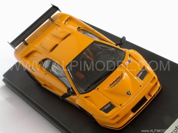 Looksmart Ls163a Lamborghini Diablo Gt2 1998 Orange 1 43