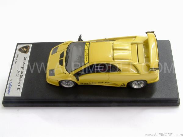 Looksmart Lamborghini Diablo Gt2 Jota Metallic Yellow 1