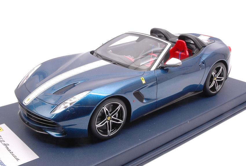 Looksmart Ls18010a Ferrari F60 America 2015 Blue Nart 118