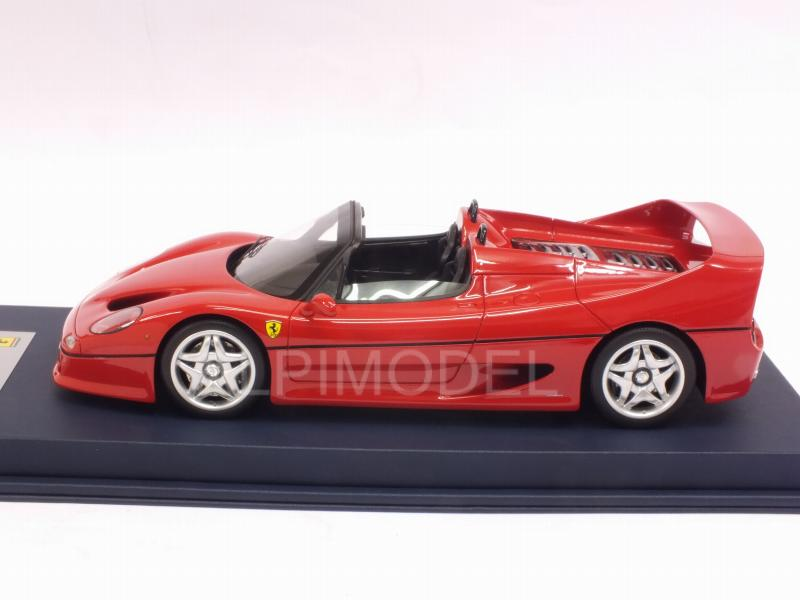 Ferrari F50 Spider (Rosso Corsa) with display case - looksmart
