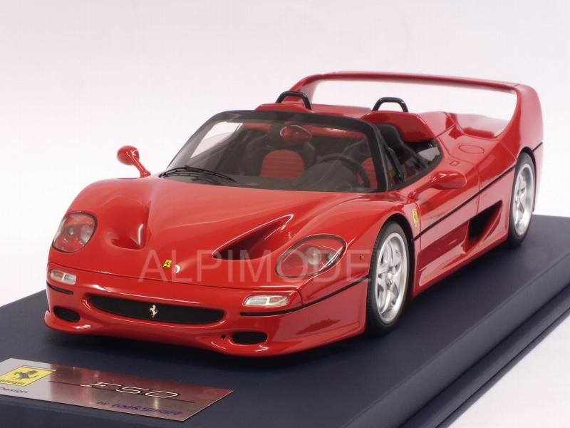 Ferrari F50 Spider (Rosso Corsa) with display case by looksmart