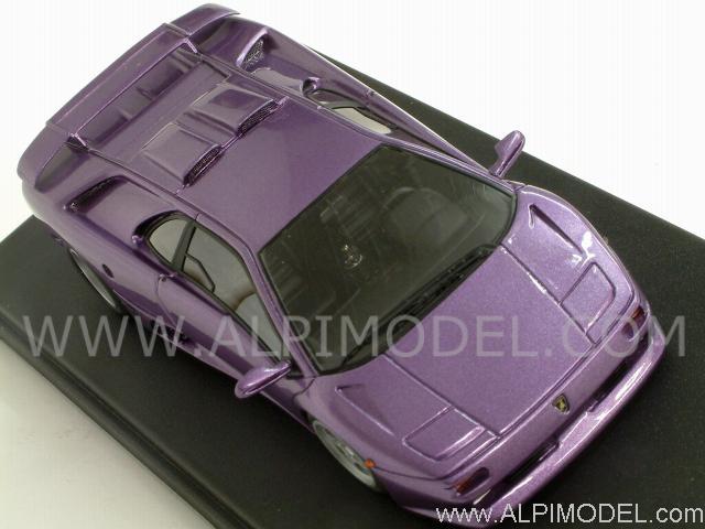Looksmart Ls267b Lamborghini Diablo Se30 Jota 1994 Metallic Violet 1 43