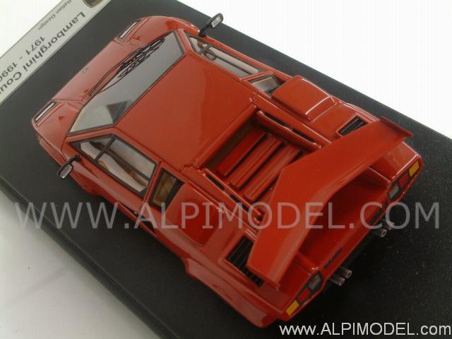 Looksmart Ls325b Lamborghini Countach Lp500s 1982 Red 1 43