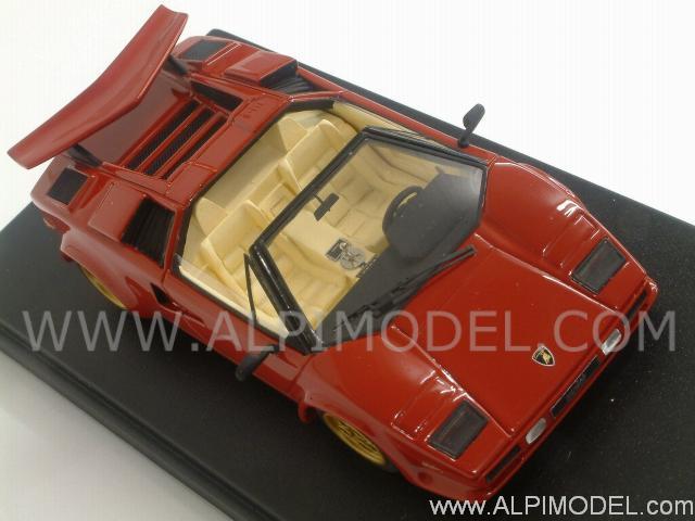 Looksmart Ls328 Lamborghini Countach Lp500 Ss Cabrio Red