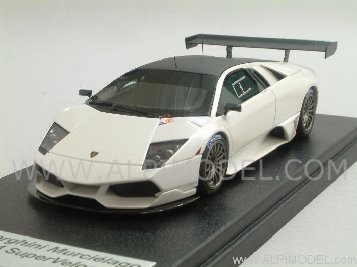 Looksmart Ls379d Lamborghini Murcielago R Sv Pearl White Limited
