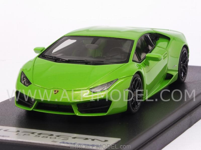 looksmart ls455c lamborghini huracan lp580 2 2015 verde mantis 1 43. Black Bedroom Furniture Sets. Home Design Ideas