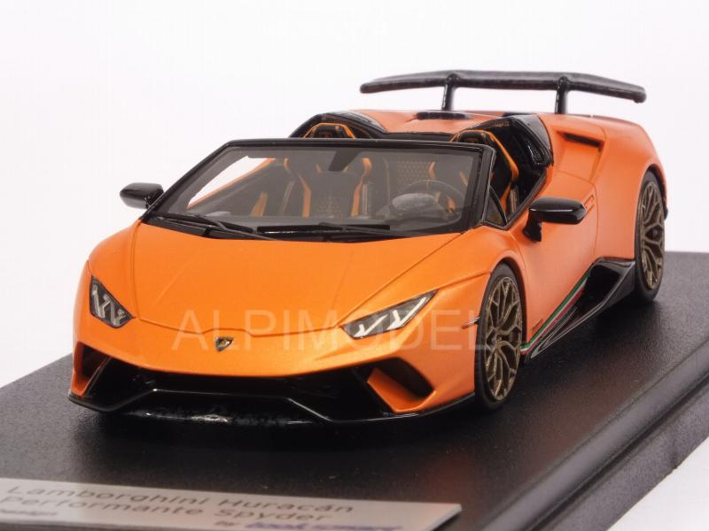 Lamborghini Huracan Performante Spyder 2018 (Arancio Anthaeus by looksmart