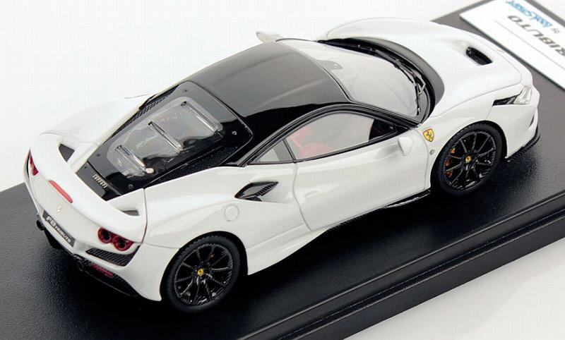 Ferrari F8 Tributo (Cervino White/Black) - looksmart