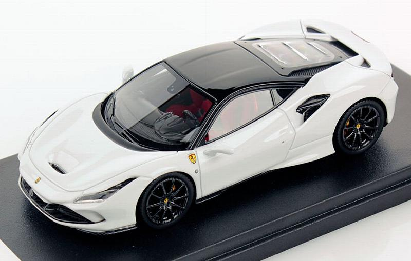 Ferrari F8 Tributo (Cervino White/Black) by looksmart