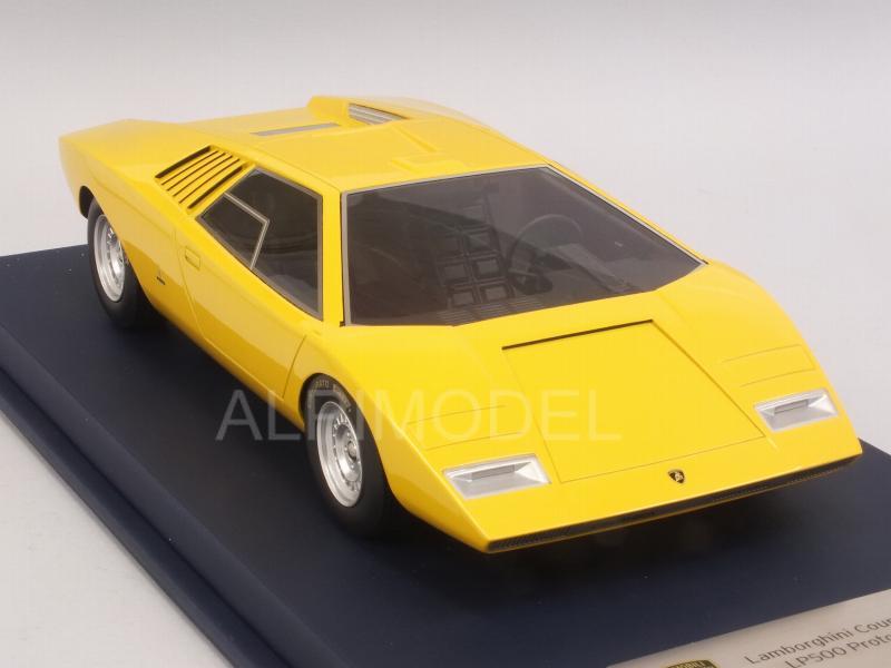 Looksmart Lscopt Lamborghini Countach Lp500 Prototype Yellow With