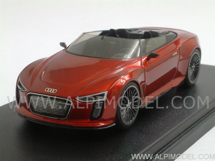 Looksmart Audi R8 Spyder E Tron Metallic Red Limited
