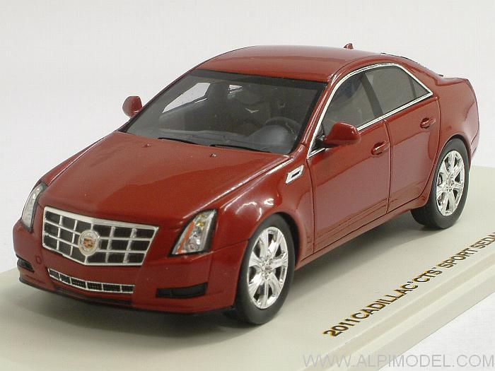 Cadillac CTS Sport Sedan 2011 (Crystal Red) by luxury