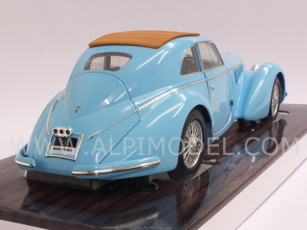 Alfa Romeo 8C 2900 B Lungo 1938  (Light Blue) - minichamps