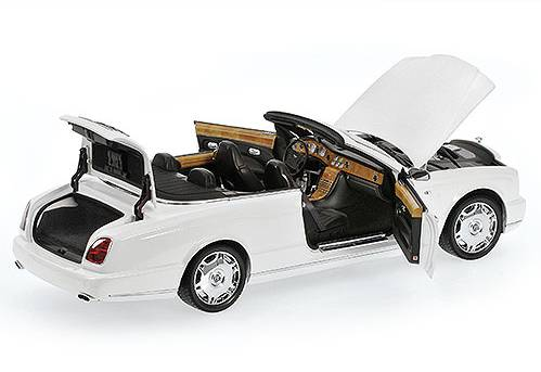 Bentley Azure 2006 White - minichamps
