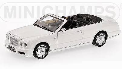 Bentley Azure 2006 White by minichamps