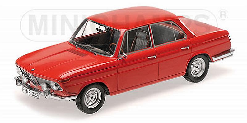 BMW 1800 Ti 1965 (Red) by minichamps