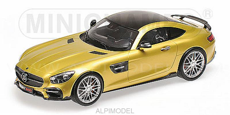 Brabus 600 Auf Basis Mercedes Amg GT S 2016 (Gold) by minichamps