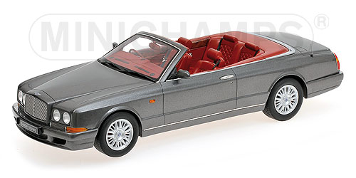 Bentley Continental Azure 1996 Cabrio Grey Metallic (Resin) by minichamps