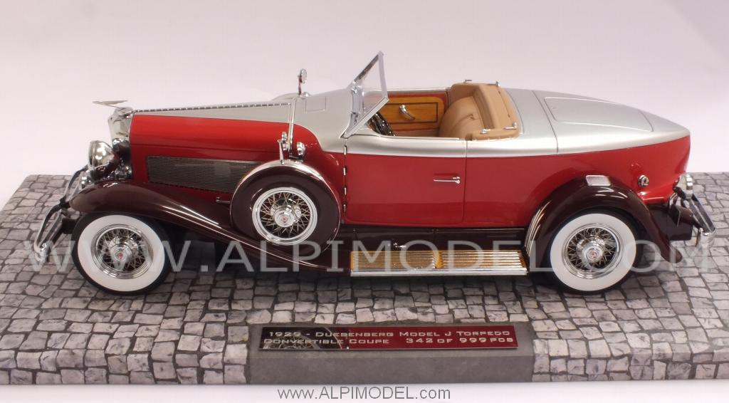 Duesenberg Model J Torpedo Convertible Coupe 1929 - minichamps