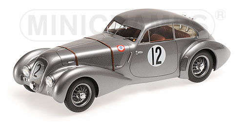 Bentley Embricos Corniche  24h Le Mans 1950 Hay - Hunter by minichamps