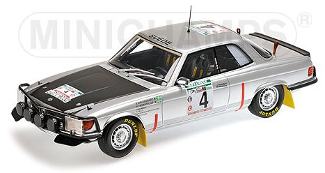 Mercedes 450 SLC 5.0 Rally Bandama 1979 Waldegaard - Thorszelius by minichamps