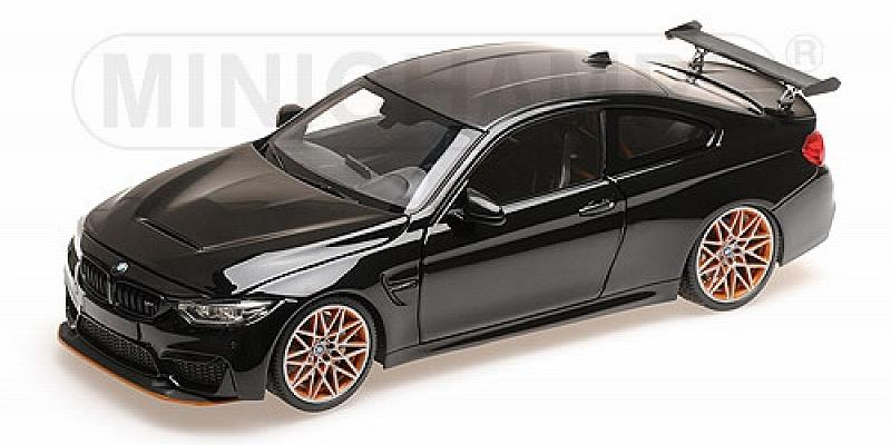 BMW M4 GTS 2016 (Black Metallic) by minichamps
