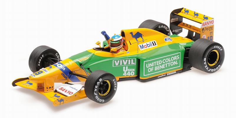 Benetton B192 Ford GP Germany 1992 Michael Schumacher by minichamps