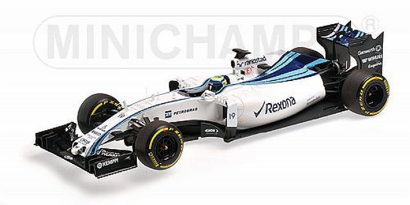 Williams FW37 Mercedes GP Abu Dhabi 2015 Felipe Massa (HQ Resin) by minichamps