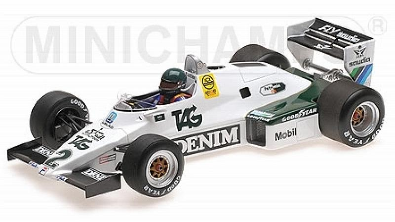 Williams FW08C Ford 1983 Jacques Laffite by minichamps