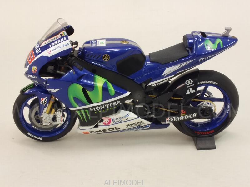 MINICHAMPS 122153099 Yamaha YZR-M1 MotoGP 2015 World Champion Jorge Lorenzo 1/12