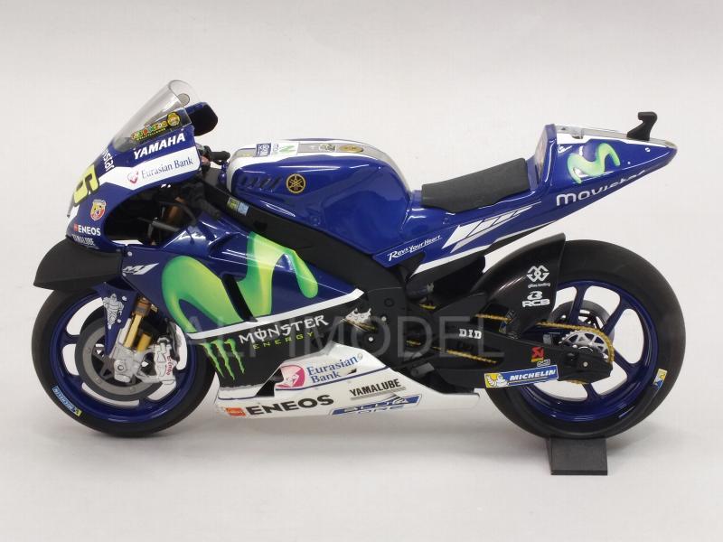 Yamaha yzr-m1 motogp winner Catalunya 2016 valentino rossi Minichamps 1:12