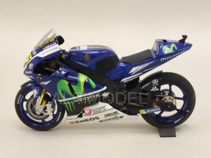 Yamaha YZR-M1 Movistar Winter  Test Bike Sepang MotoGP 2016 Valentino Rossi - minichamps