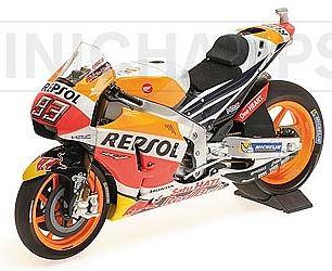 Honda RC213V Team Repsol World Champion MotoGP 2017 Marc Marquez by minichamps