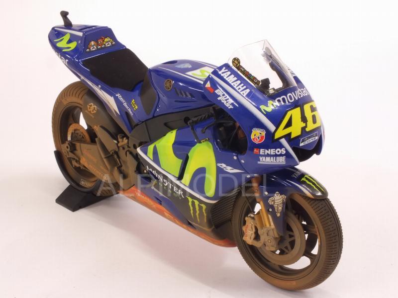 Rossi #46 Minichamps 1:12 122173346 2017 MotoGP Yamaha YZR-M1 Malaysia GP V