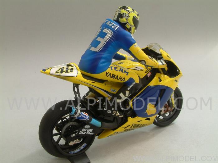 Valentino Rossi FIGURINE Sachsenring MOTOGP 2006-1:12 Minichamps