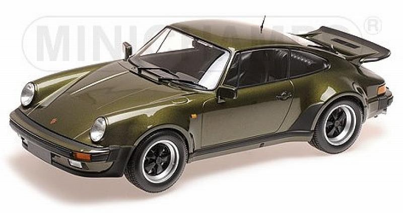 Porsche 911 Turbo 1977 (Olive) by minichamps