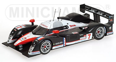 Peugeot 908 HDI FAP Le Mans 2007 Villeneuve Gene Minassian 'Minichamps Car Collection' by minichamps