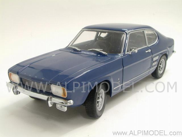 Minichamps 150089004 Ford Capri 1969 Dark Blue Left Hand Drive