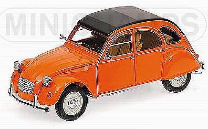 Citroen 2CV 1976 Orange by minichamps