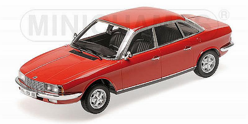 NSU Ro80 1972 (Red) by minichamps